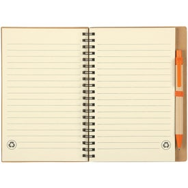 Eco Spiral Notebook & Pen for Your Church