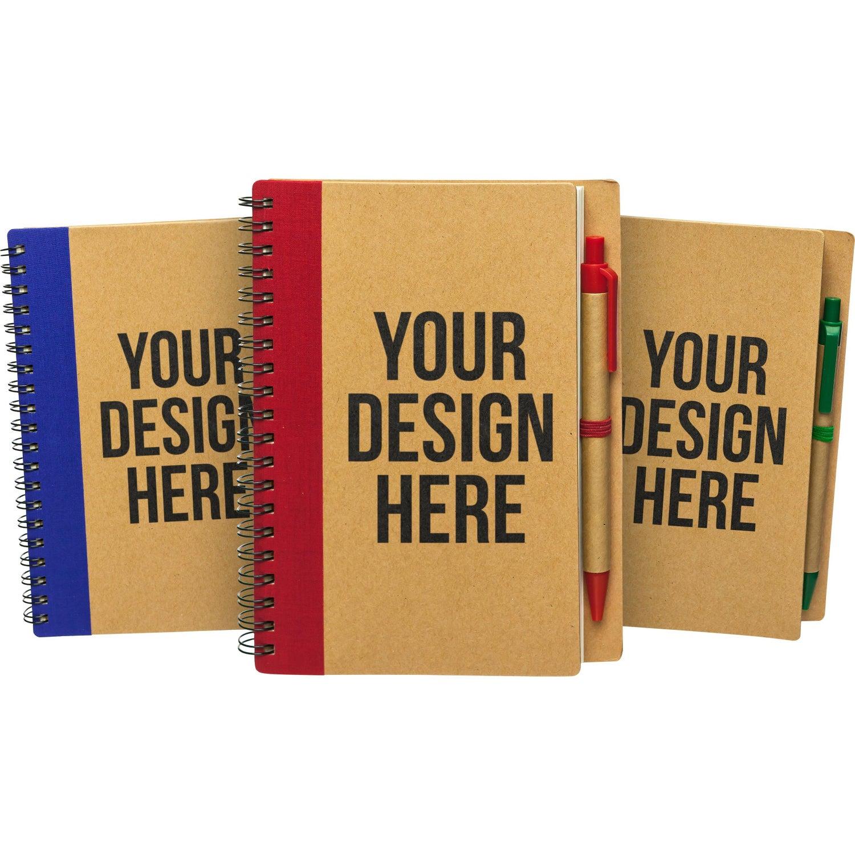 custom logo notebooks