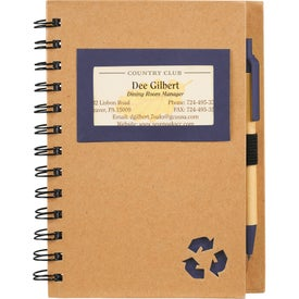 Custom Eco Star Notebook and Pen