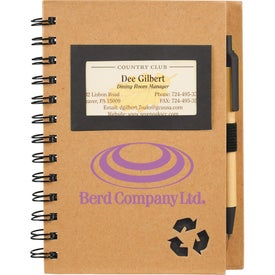 Eco Star Notebook and Pen for Your Church