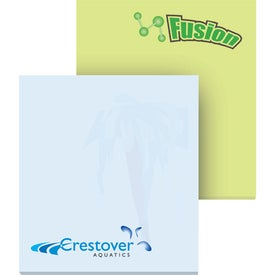 "Eco Adhesive Sticky Note Pads (2 1/2"" x 3"" w/ 100 Sheets)"