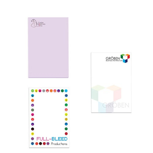 White BIC Eco Adhesive Sticky Note Pad