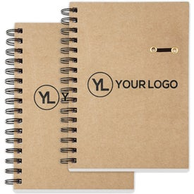 """Eco Hard Cover Spiral Notebook (5 3/4"""" x 8 1/4"""")"""