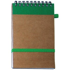 EcoPad Mini Pocket Note Pad Printed with Your Logo