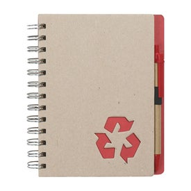 Eco Rich Spiral Notebook and Pen for Your Church