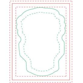 Light Bulb BIC Adhesive Sticky Note Pads (Medium, 25 Sheets)