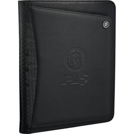 Elleven Vapor Zippered Padfolio for Marketing