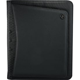 Elleven Vapor Zippered Padfolio Printed with Your Logo