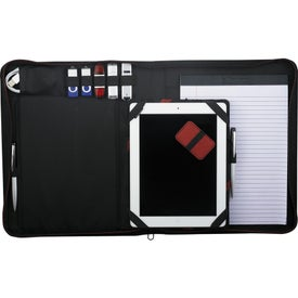 Advertising Elleven Vapor Zippered Padfolio