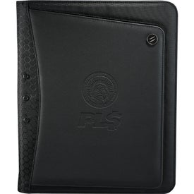 Elleven Vapor Zippered Padfolio for your School