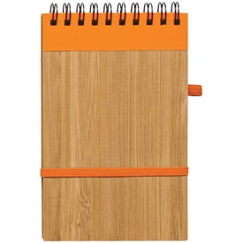 Essence Bamboo Jotter Branded with Your Logo