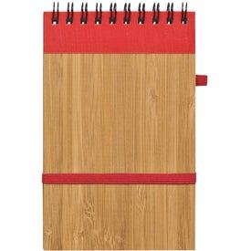 Monogrammed Essence Bamboo Jotter