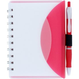 Flexible Notebook and Sticky Note Combo for Advertising