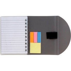 Custom Flexible Notebook and Sticky Note Combo