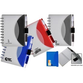 Flexible Notebook and Sticky Note Combo for Customization