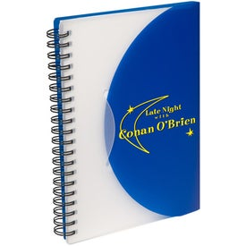 Logo Fold and Close Notebook