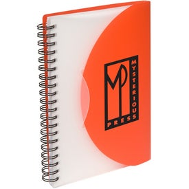 Personalized Fold and Close Notebook