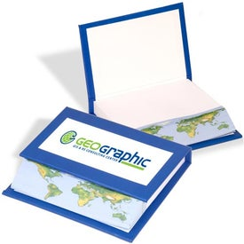 Global Memo Book Imprinted with Your Logo