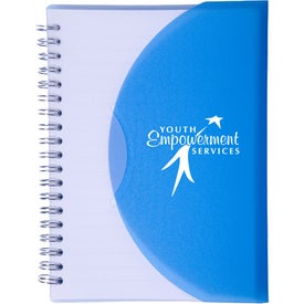 Branded Large Spiral Curve Notebook