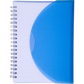 Promotional Large Spiral Curve Notebook