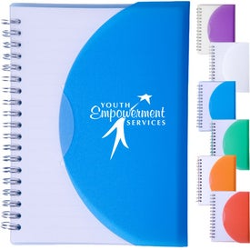 Large Spiral Curve Notebook
