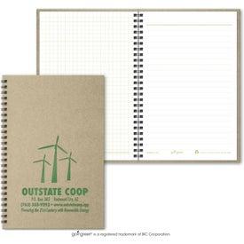 Branded Goingreen Notebook