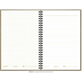 Monogrammed Goingreen Notebook