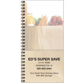 Company Grocery Shopper Notebook