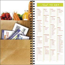 Grocery Shopper Notebook with Your Slogan
