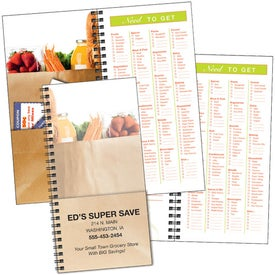 Grocery Shopper Notebook for Marketing