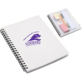 Hardcover Notebook with Pouch for Advertising