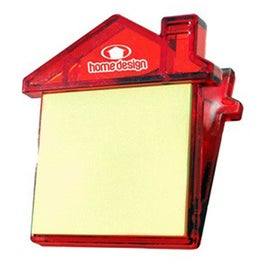 Imprinted House Sticky Note Clip