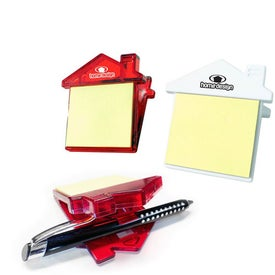 House Sticky Note Clip Branded with Your Logo