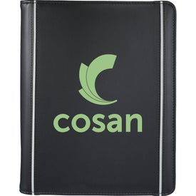 Hudson Tablet Portfolio with Your Slogan