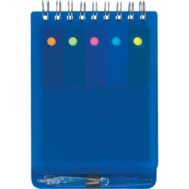 Logo Spiral Jotter With Sticky Notes, Flags & Pen