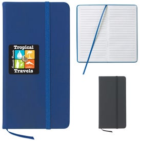 """3"""" x 5"""" Journal Notebook Imprinted with Your Logo"""