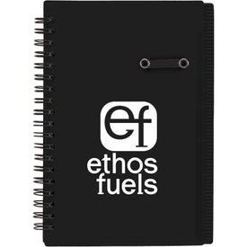 Custom Journal Notebook With Pen Loop