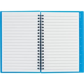 Journal Notebook With Pen Loop for Advertising
