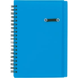 Journal Notebook With Pen Loop Printed with Your Logo