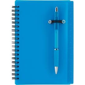 Branded Journal Notebook With Pen Loop