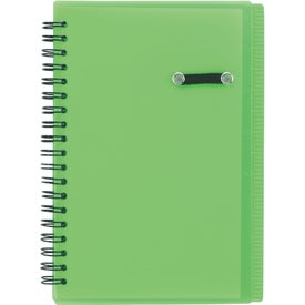 Journal Notebook With Pen Loop Giveaways