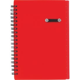 Personalized Journal Notebook With Pen Loop