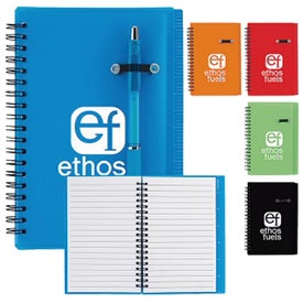 "Journal Notebook With Pen Loop (5"" x 7"")"
