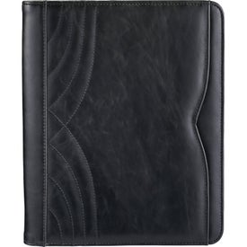 Monogrammed Kate Deco Tech Padfolio
