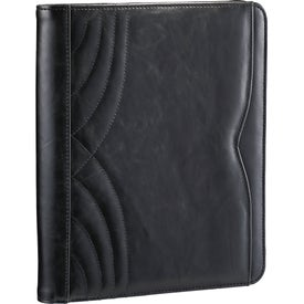 Imprinted Kate Deco Tech Padfolio