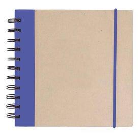 Monogrammed Kraft Notepad with Pen