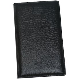Leather Look Padfolio with Sticky Note Pads and Flags for Your Church
