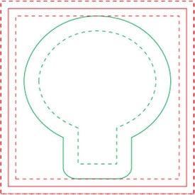 """BIC Light Bulb Sticky Note Pad (100 Sheets, 2.4674"""" x 2.7444"""")"""