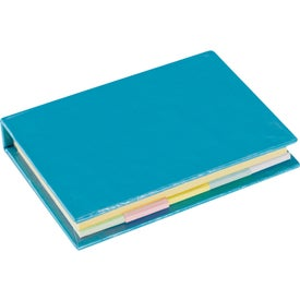 Lil Sticky Notes Book with Your Slogan