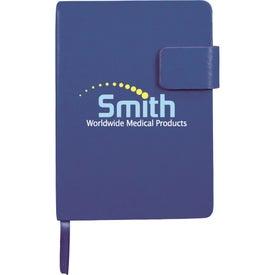 Branded Magnetic Closure Junior Notebook